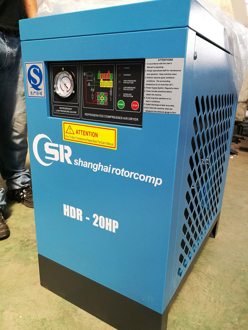 Shipping-15KW-compressor-and-high-temp-air-dryer-2