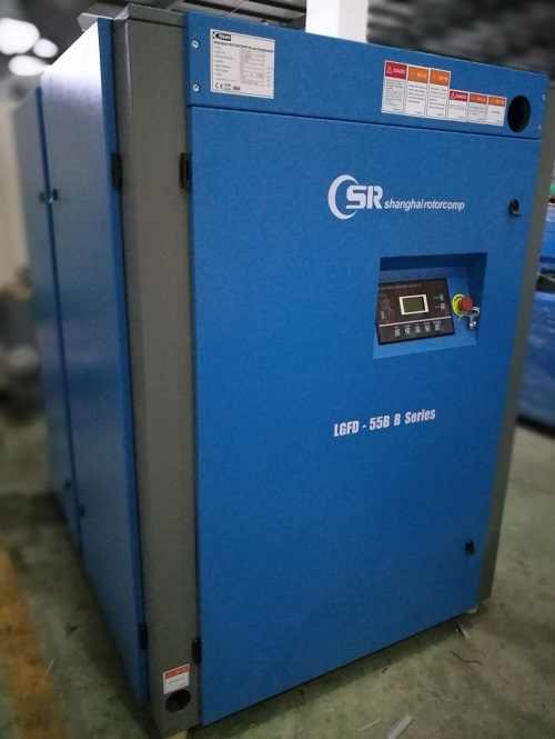 Testing&inspecting our 100HP screw air compressor 1