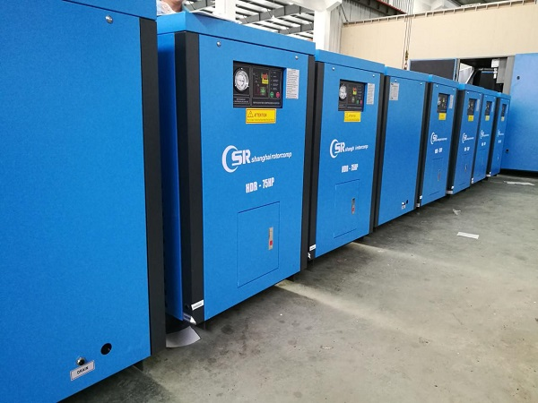 Shipping our high-end 75HP EVO screw compressor and 75HP High-temp air dryer 2