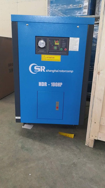 VSD Screw Air Compressor Frequency Control