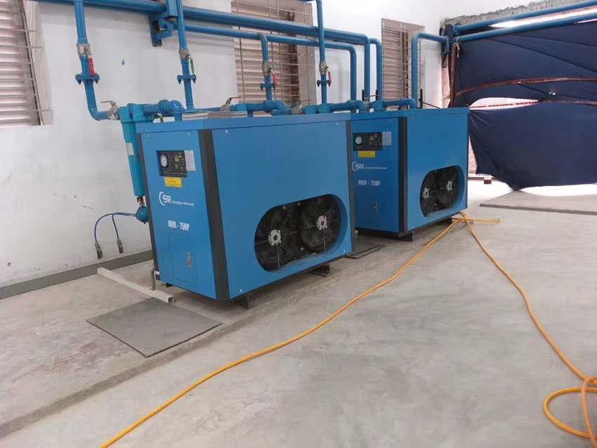 Rotorcomp 55kw screw compressor system